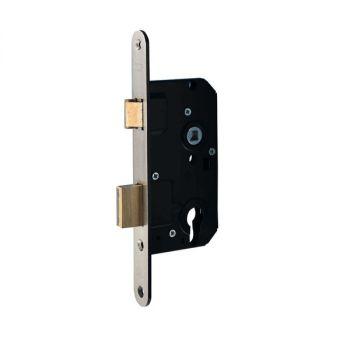 Nemef 4139 veiligheidsslot afgerond PC72 doornmaat 50 mm SKG2