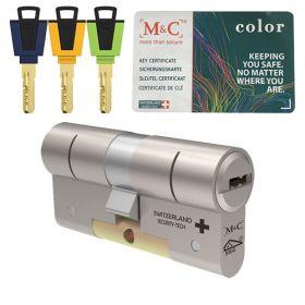 M&C Color+ hele veiligheidscilinder SKG3