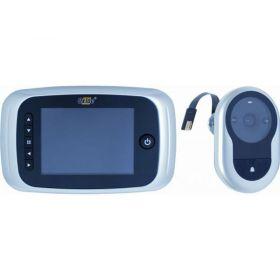 Oxloc digitale deurspion met opnamefunctie