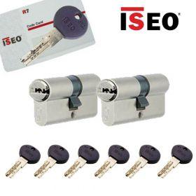 Iseo R7 30/30 set 2 cilindersloten met 6 sleutels SKG3