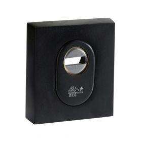 M&C vierkante kerntrekrozet zwart SKG3