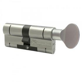 M&C Color dubbele knopcilinder SKG*** Nikkel