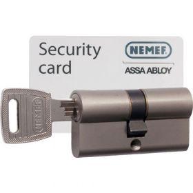 Nemef 132/9 30/30 set 1 cilinderslot met 3 sleutels SKG3